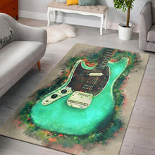 Load image into Gallery viewer, Kurt Cobain Guitar  Printing Instrument Rug,  Bedroom,  Christmas Gift