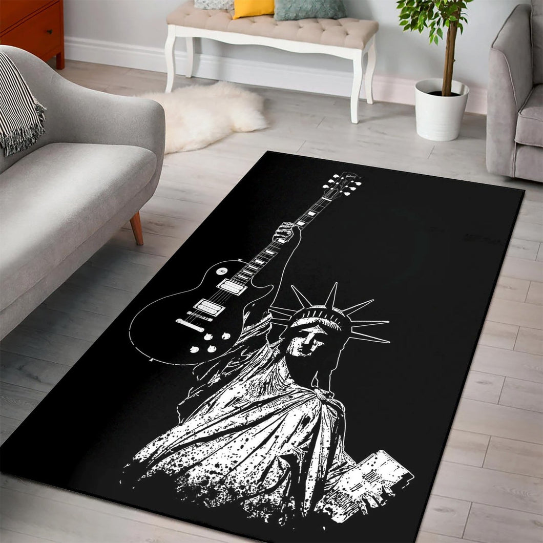 Liberty Rock  Area Rugs,  Living room and bedroom Rug,  Halloween Gift