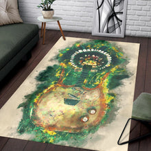 Load image into Gallery viewer, Link Wray Electric Guitar  Instrument Area Rug,  Gift for fans,  Christmas Gift