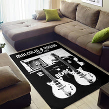 Load image into Gallery viewer, Malcolm Young Gretsch  Instrument Area Rug,  Kitchen Rug,  Halloween Gift