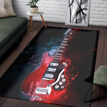 Load image into Gallery viewer, Mark Knopfler Guitar  Area Rugs, Living Room Rug,  Halloween Gift