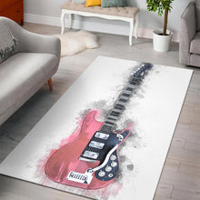 Load image into Gallery viewer, Mark Knopfler Guitar  Printing Instrument Rug,  Kitchen Rug,  Floor Decor