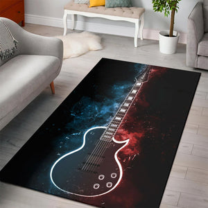 Marty Friedman Guitar  Area Rugs,  Bedroom,  Christmas Gift