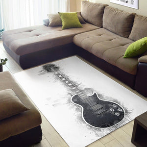 Marty Friedman Guitar  Area Rugs,  Kitchen Rug,  Family Decor