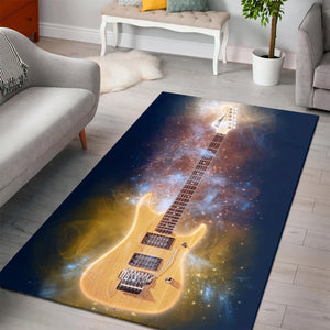 Nuno Bettencourt  Music Rug, Living Room Rug, Home Decor