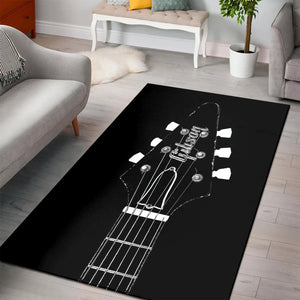 Old Gibson Flying V  Area Rugs, Living Room Rug, Home Decor