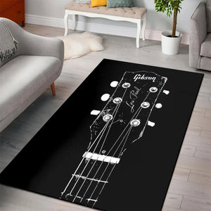 Old Gibson  Printing Instrument Rug,  Bedroom,  Christmas Gift