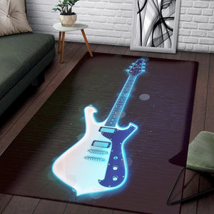 Paul Gilbert  Instrument Area Rug,  Bedroom,  Family Decor