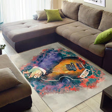 Load image into Gallery viewer, Paul Mccartney Bass Guitar  Area Rugs,  Living room and bedroom Rug,  Family Decor