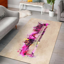 Load image into Gallery viewer, Piano Music Art  Printing Instrument Rug,  Kitchen Rug,  Floor Decor