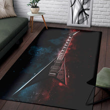 Load image into Gallery viewer, Randy Rhoads Guitar  Area Rugs,  Living room and bedroom Rug,  Halloween Gift