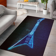 Load image into Gallery viewer, Randy Rhoads Guitar  Rug, Living Room Rug, Home Decor