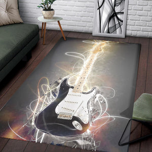 Ritchie Blackmore  Printing Instrument Rug,  Bedroom,  Halloween Gift