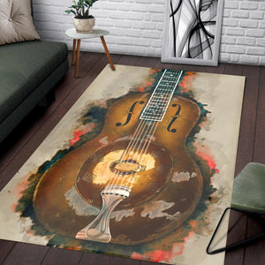 Rory Gallagher Guitar  Area Rugs,  Kitchen Rug,  Christmas Gift