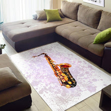 Load image into Gallery viewer, Saxophone  Area Rugs,  Gift for fans,  Family Decor