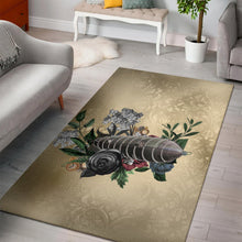 Load image into Gallery viewer, Steampunk Airship  Printing Instrument Rug, Living Room Rug,  Floor Decor