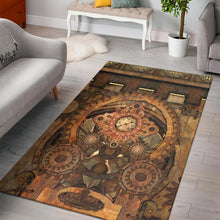 Load image into Gallery viewer, Steampunk Deaign  Rug, Living Room Rug,  Family Decor