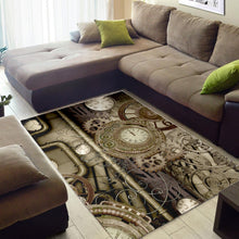 Load image into Gallery viewer, Steampunk Design  Music Rug,  Bedroom,  Halloween Gift