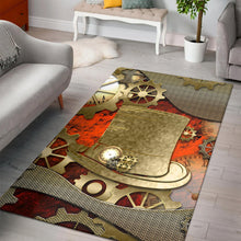 Load image into Gallery viewer, Steampunk Design  Rug,  Kitchen Rug,  Christmas Gift