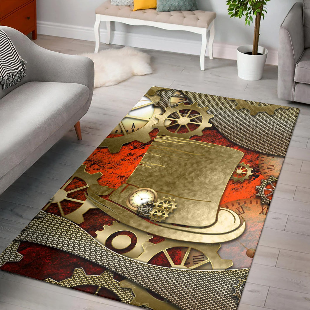 Steampunk Design  Rug,  Kitchen Rug,  Christmas Gift