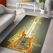 Load image into Gallery viewer, Steve Howe Guitar  Music Rug,  Kitchen Rug,  Christmas Gift