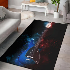 Steve Morse Guitar  Area Rugs,  Living room and bedroom Rug,  Floor Decor