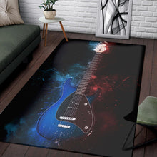 Load image into Gallery viewer, Steve Morse Guitar  Area Rugs,  Living room and bedroom Rug,  Floor Decor