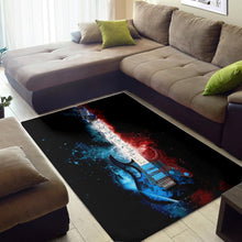 Load image into Gallery viewer, Steve Vai Guitar  Area Rugs,  Gift for fans,  Halloween Gift