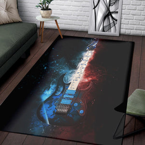 Steve Vai Guitar  Area Rugs,  Gift for fans,  Halloween Gift