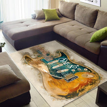 Load image into Gallery viewer, Stevie Ray Vaughan S Axe  Area Rugs,  Kitchen Rug,  Halloween Gift