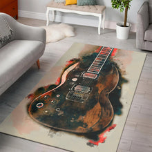 Load image into Gallery viewer, Tony Iommi Electric Guitar  Rug,  Gift for fans,  Christmas Gift