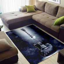 Load image into Gallery viewer, Tony Iommi Guitar  Printing Instrument Rug, Living Room Rug,  Floor Decor