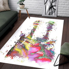Load image into Gallery viewer, Two Funky Guitars  Area Rugs,  Living room and bedroom Rug,  Floor Decor