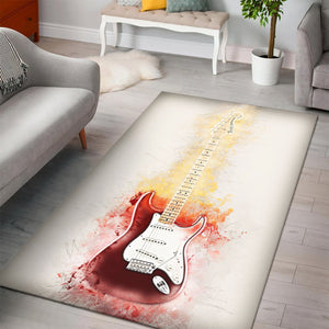 Yngwie Malmsteen  Printing Instrument Rug,  Kitchen Rug, Home Decor