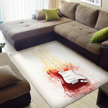 Load image into Gallery viewer, Yngwie Malmsteen  Printing Instrument Rug,  Kitchen Rug, Home Decor
