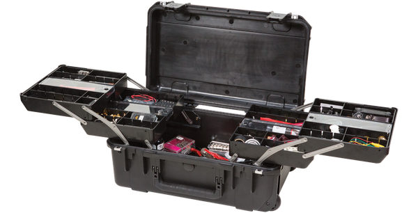 SKB SKB-3i-2011-7B-TR iSeries Tool/Tech Box With Pull Out Trays w/Wheels