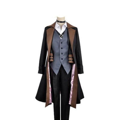 Anime Bungou Stray Dogs Cosplay Costume Chuya Nakahara Port Mafia For Men No Hat / S Costumes