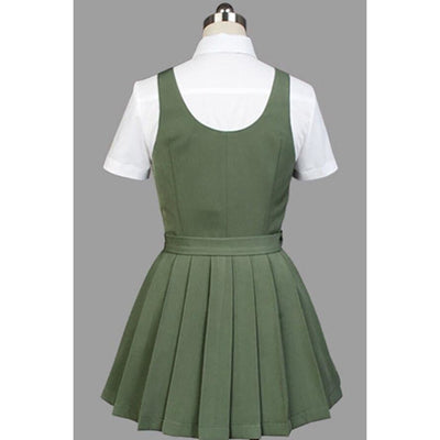 Anime Super Dangan Ronpa 2 Danganronpa Mahiru Koizumi Cosplay Costume School Uniform White Shirt