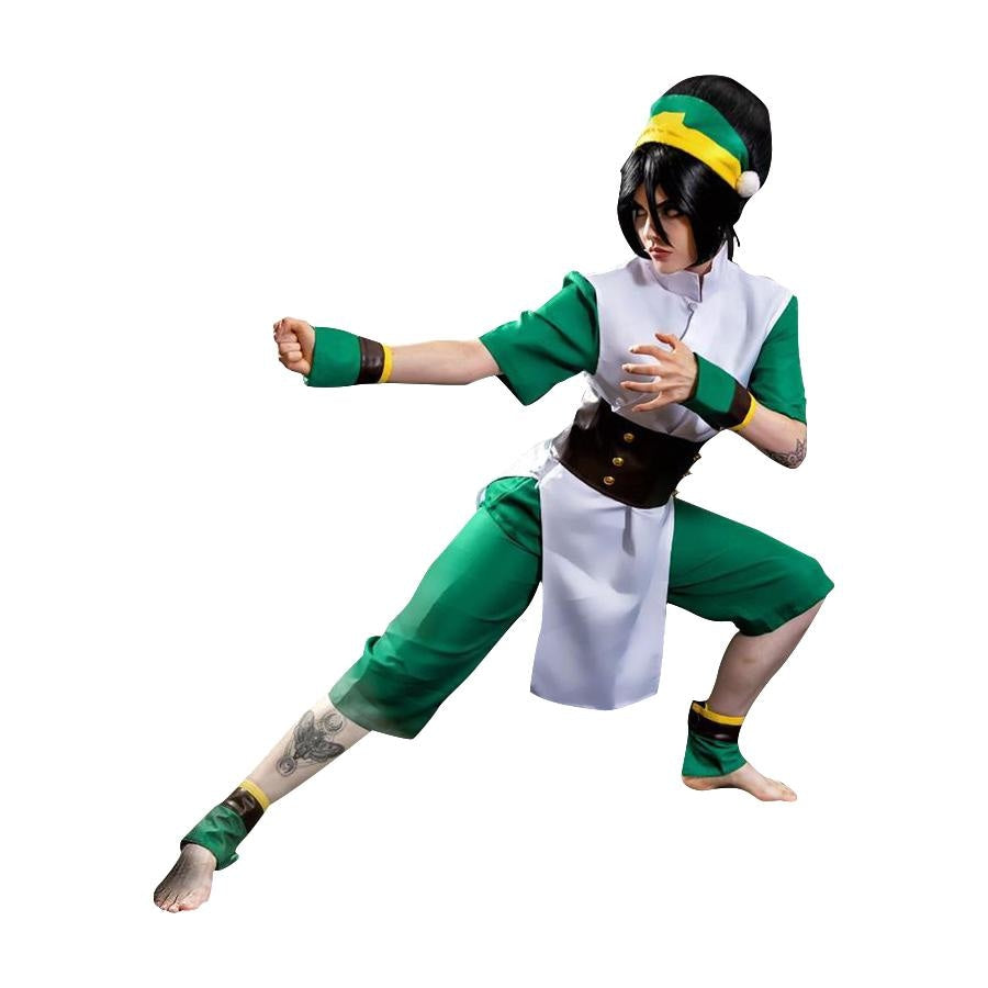 Avatar: The Last Airbender Toph Beifong Cosplay Costume Mp001719 Costumes