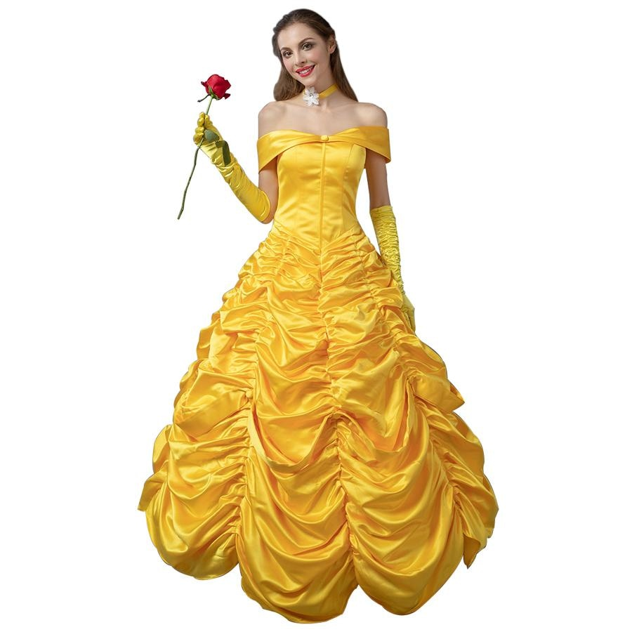 Beauty And The Beast Bella Cosplay Costumes Princess Dress Mp002019 Xs / Us Warehouse (Us Clients
