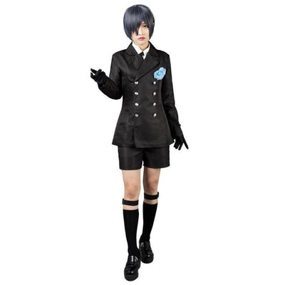Black Butler Ciel Phantomhive Cosplay Costumes Funeral Outfit Mp004170 Xs / Us Warehouse (Us Clients