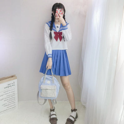 Crush Sailor Youth Girls School Uniform