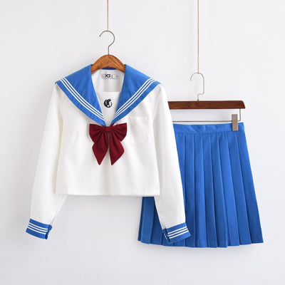 Crush Sailor Youth Girls School Uniform Blue / S