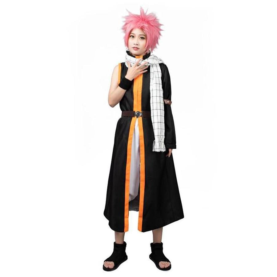 Fairy Tail Natsu 3Th Cosplay Costumes Mp001679 Xs / Us Warehouse (Us Clients Available)