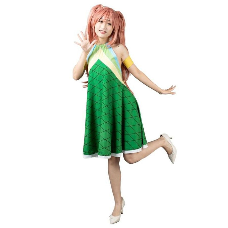 Fairy Tail Wendy Marvell The Second Version Cosplay Costume Mp003425 Xs / Us Warehouse (Us Clients