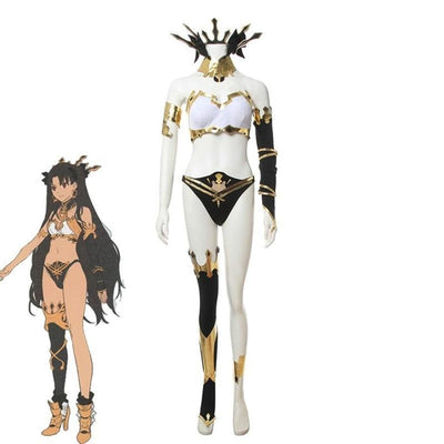 Fate Grand Order Ishtar Archer Cosplay Costume Christmas Halloween Full Set Costumes