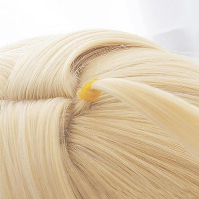 Fate Stay Night Altria Pendragon Saber Cosplay Wig Blonde Bread Updo / Bun C00042 Wigs
