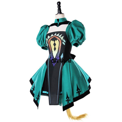 Fgo Fate Grand Order Apocrypha Atalanta Tube Tops Dress Uniform Outfit Anime Cosplay Costumes L