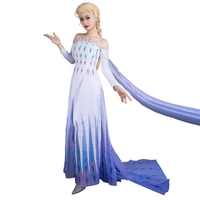 Frozen Ii Queen Elsa Cosplay Costumes The Fifth Spirit Dress Mp005584