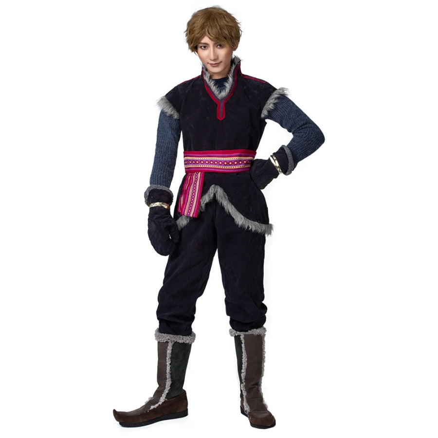 Frozen Kristoff Cosplay Costumes Halloween Outfit Mp001653 S / Us Warehouse (Us Clients Available)